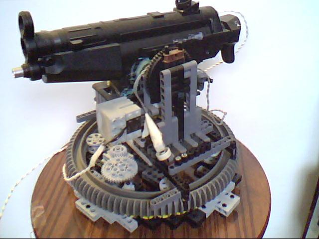Lego Gun Turret Sentry 171 Split Reaction