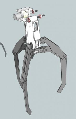 how to make a cardboard claw machine